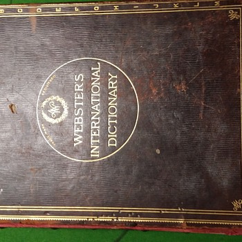 webster's international dictionary australasian edition 1908 - Books