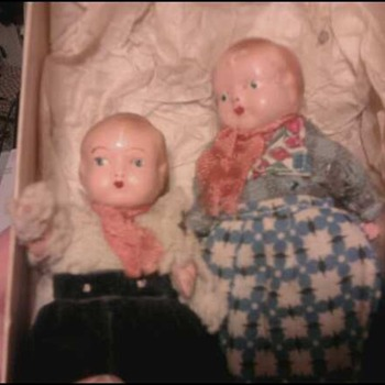 Really Old Dolls, Anyone know what they are? - Dolls