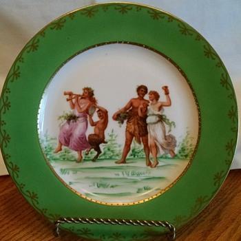 EPAIG Royal Czechoslovakia Plates - Mythological scenes