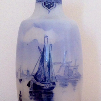 "very rare Legras perfume bottle  ""Delft"" - Art Nouveau"
