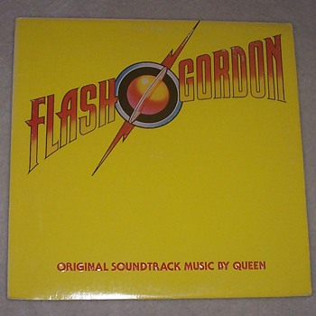 Queen 'Flash Gordon' soundtrack album. - Records