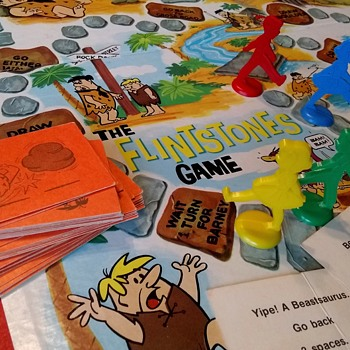 Yabba-dabba-doo! It's The Flintstones Game!  - Games