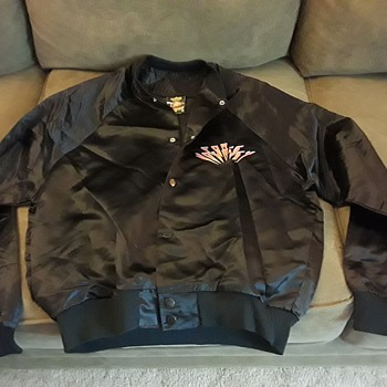 Journey 1983 Frontiers Tour Satin Jacket, Journey Force Fan Club Edition - Music Memorabilia