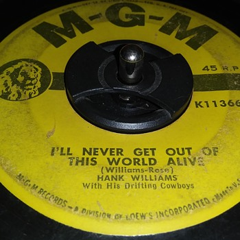 HANK WILLIAMS SR. AND THE DRIFTING COWBOYS - Records