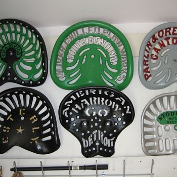 How do you Paint your Tractor Seats?