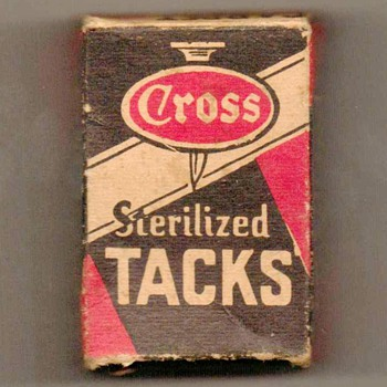1950's - W.W. Cross Carpet Tacks - Tools and Hardware