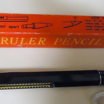 Item	Price	Qty	Total # 14748502 - Neat Vintage Retro Novelty RULER PENCIL W/Box	$6.00	1	$6.00 - Office