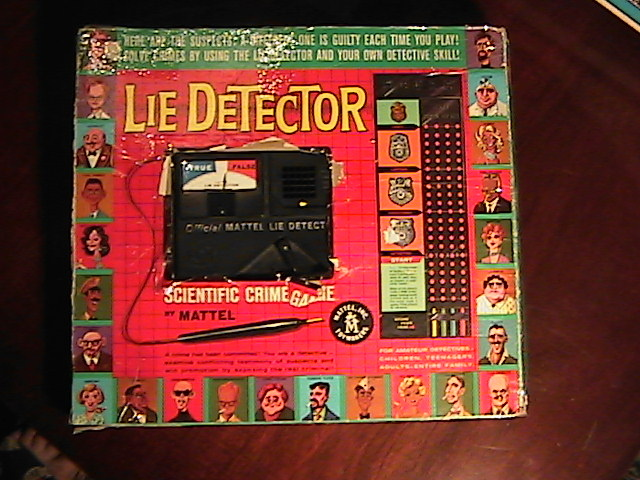 1960s Lie Detector Game By Mattel Collectors Weekly