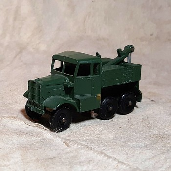 Macho Mighty Military Matchbox Monday MB 64 Scammell Breakdown Truck 1959-1965 - Model Cars