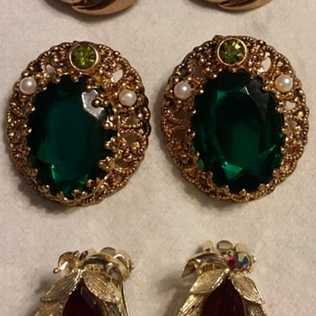Mixed Lot of Signed Jewelry - Costume Jewelry