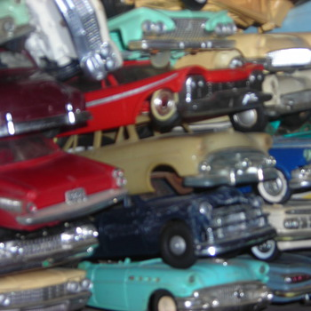 This is my promo/model car junkyard.  Love Junkyards, and models so I put them together for when I need a part... - Model Cars
