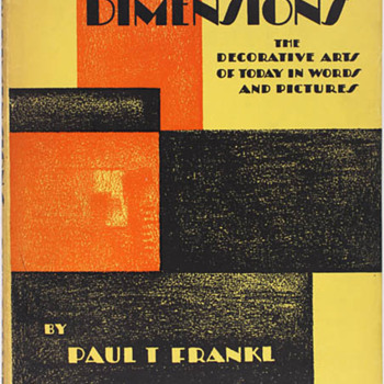 Three Books by Paul T Frankl - Books
