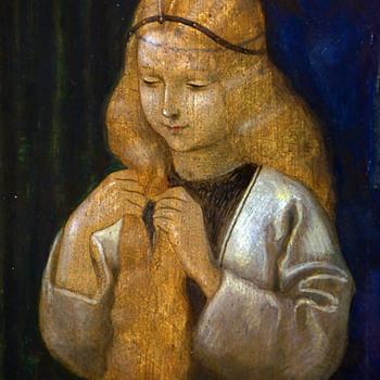 Angelicus J. Maria Beckert (1889-1962) - Das Konigskind - Art Nouveau
