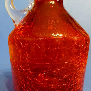Rainbow Art Glass Company ruby jugs - Art Glass