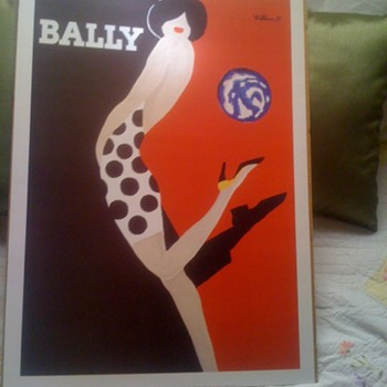 Villemot Bally Poster - Posters and Prints