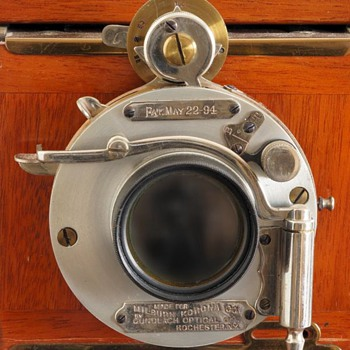 Aluminum Camera Shutter, 1894. (the beauty of early camera shutters #6)