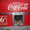 6 cents coca-cola vending machine