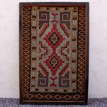 Old Native American Blanket / Rug