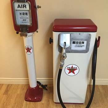 Air meter and gasboy - Petroliana