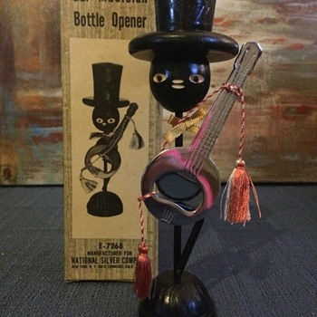 Vintage Bottle Opener - Figurines