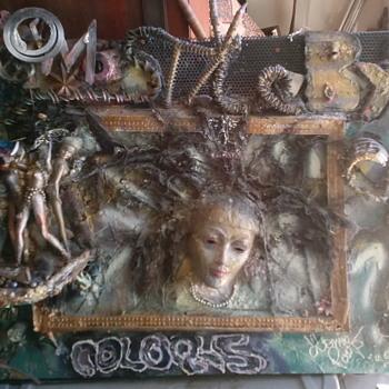 Mix sculpted art - Folk Art
