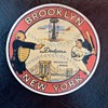 Brooklyn Dodgers Baseball Decal