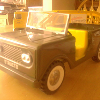 Structo Jeep is immaculate! - Model Cars