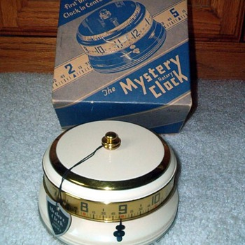 Another Lux Mystery Annular Clock  Boxed Beauty, 1935 - Art Deco