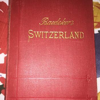 Baedeker Switzerland Travel book - Books