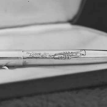 Parker Fountain Pen, Louis Armstrong - Pens