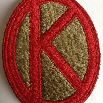 WW2 Era U.S. Military Patch?? - Military and Wartime