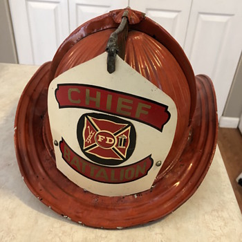 Fireman's hat - Firefighting
