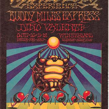 Griffin/Moscoso Posters, 1968 - Music Memorabilia