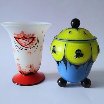 Marey-Beckert-Schider and Otto Wilms for Loetz. - Art Glass