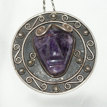 BETO Taxco Mexico Sterling Pendant - Fine Jewelry