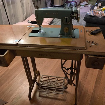 Brother Treadle Sewing Machine  - Sewing