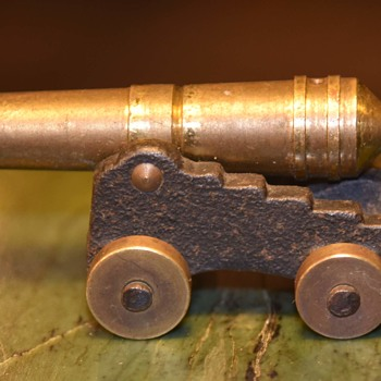 Little Brass Cannon - Toys