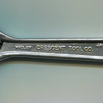 Crescent Wrench..1960s - Tools and Hardware