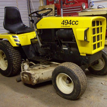 1975 Simplicity Baron JCPenneys Mower - Tractors