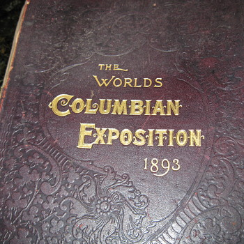 THE WORLDS COLUMBIAN EXPOSITION 1893 - Books