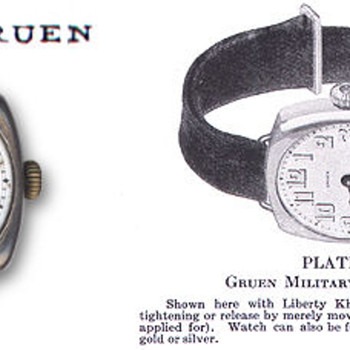 Gruen Veri-Thin Ladies Wristwatch