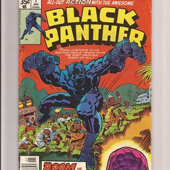 Prince of Wakanda by Jack Kirby - Comic Books