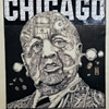Vintage Chicago Mayor Daley early 1970's Original Illustration by Gary Viskupic