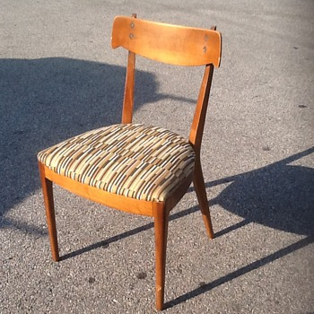 Help identify maker of vintage chair... - Furniture