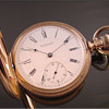 E. Howard 14k Series Vll Size N Hunt Case Pocket Watch