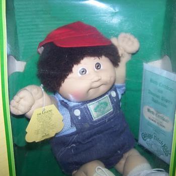 1985 Cabbage Patch Boy Doll - Dolls