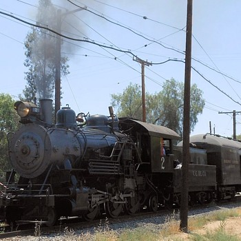 Taking a Ride on a Steam Locomotive