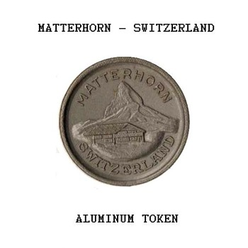 """""""Matterhorn - Switzerland"""" Token"""