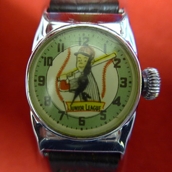 1956 Ingraham 'Junior League' wristwatch - Wristwatches