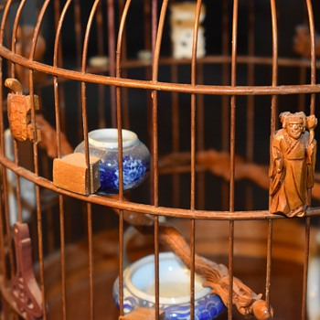 Chinese Bird Cage - Early 20th century or late 19th Century - Animals